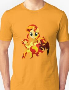 3 Forms of Sunset Shimmer Unisex T-Shirt