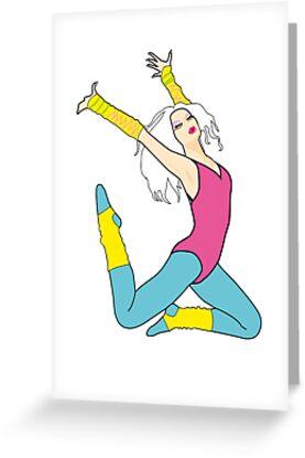 Born to do it...  [80's dancer] by Tiffany Atkin