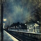 Empty Platform at Dawn, Stony Brook Station by smoothstones
