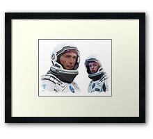 INTERSTELLAR - COOPER & BRAND Framed Print