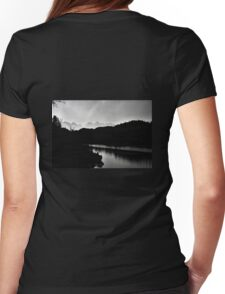 Reflections on a Lake Womens Fitted T-Shirt