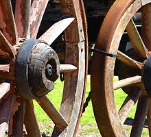 Wagon Wheels by Peter Clements