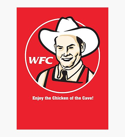 Whammy Fried Chicken Photographic Print