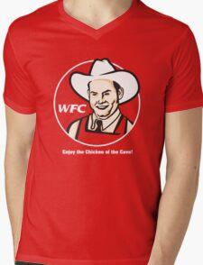 Whammy Fried Chicken Mens V-Neck T-Shirt