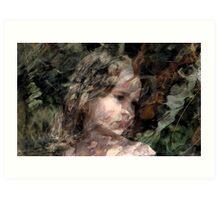 Olivia. Art Print