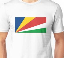flag of Seychelles Unisex T-Shirt