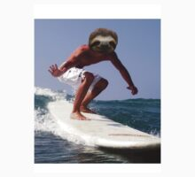 Surfing Sloth Kids Clothes
