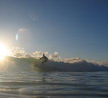 Surfer at Mullaloo by gamo