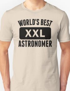 World's Best Astronomer T-Shirt