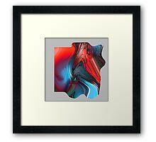 Anger Framed Print