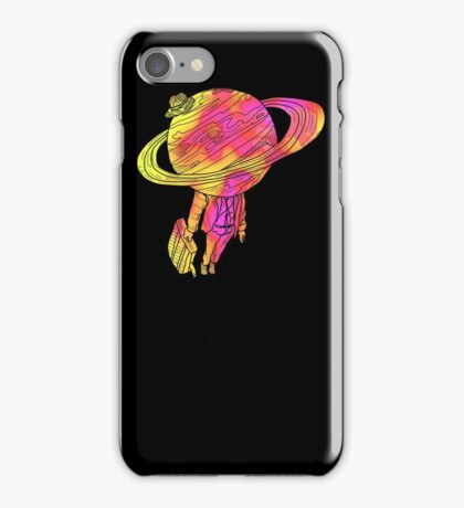 saturn Takes a vacation  iPhone Case/Skin