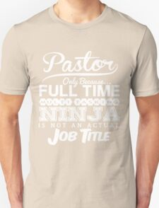 Ninja Pastor T-shirt T-Shirt