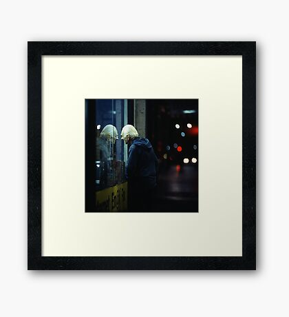 The Face of Another Framed Print