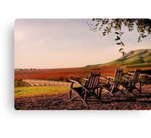 View from Cambria Winery, Santa Maria, CA Canvas Print