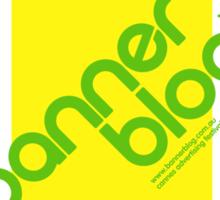 Bannerblog Cannes T-Shirt - 'Water Bottle'  Sticker