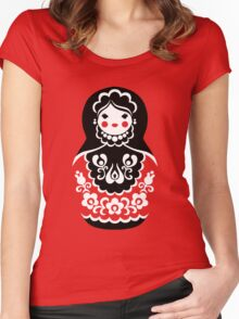 Matryoshka Women's Fitted Scoop T-Shirt
