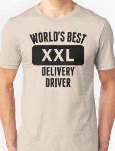World's Best Delivery Driver T-Shirt