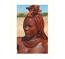 Himba People Art Print