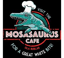 Visit the Mosasaurus Cafe Photographic Print