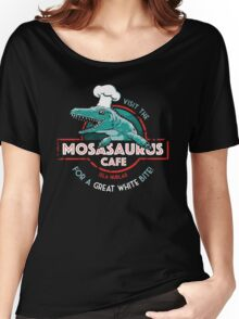 Visit the Mosasaurus Cafe Women's Relaxed Fit T-Shirt