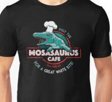 Visit the Mosasaurus Cafe Unisex T-Shirt