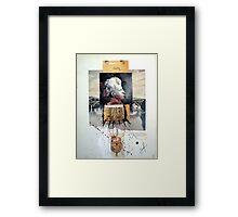 HAMBRE (hunger) Framed Print