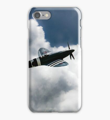 Spitfire Cloudy Skies  iPhone Case/Skin