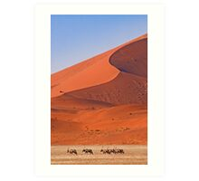 Life in the desert Art Print