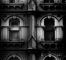 facade with windows by Michael Douglass