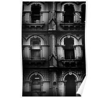 facade with windows Poster