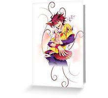 No Game no Life - Sora Greeting Card