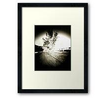 Untitled Pinhole Framed Print