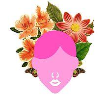 Flower Wedding Crown Portrait (0001) by TabithaBianca
