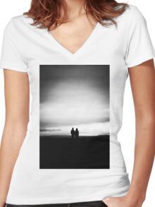 View Women's Fitted V-Neck T-Shirt