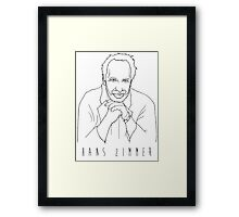'The Hans Zimmer' Framed Print