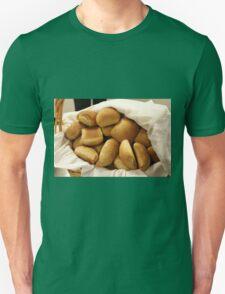 Basket of Dinner Rolls Unisex T-Shirt