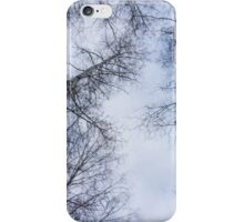Trees and sky 2 iPhone Case/Skin