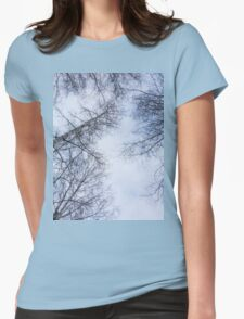 Trees and sky 2 Womens Fitted T-Shirt