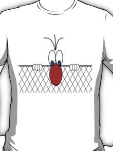 peeking over T-Shirt