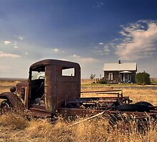 Sometimes It's Better to Rust - HDR by Bryan Peterson