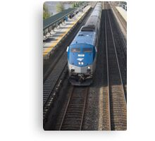 MetNor Commuter Canvas Print