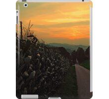 Cornfields with sundown | landscape photography iPad Case/Skin