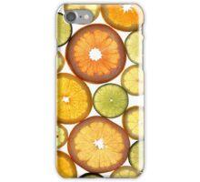 Citrus Fruit Slices iPhone Case/Skin