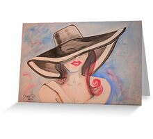 Baby..., Can I Leave my Hat on? Greeting Card