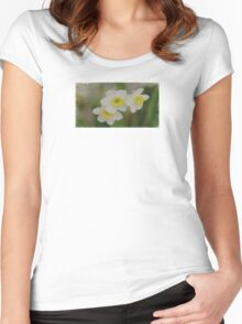 3 of Us - JUSTART © Women's Fitted Scoop T-Shirt