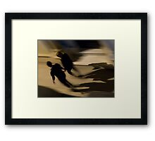 The Night Is Young Framed Print