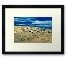 Sand In My Shoes Framed Print