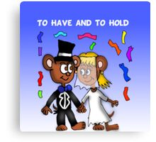 Married Mice  Canvas Print
