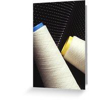 Cotton Yarn Coil Greeting Card