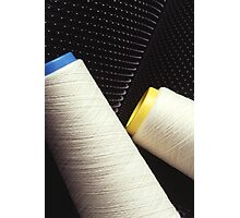 Cotton Yarn Coil Photographic Print